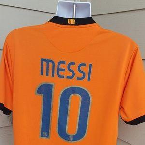 Messi Nike Jersey 2009-2010 Alternate Rare Lionel